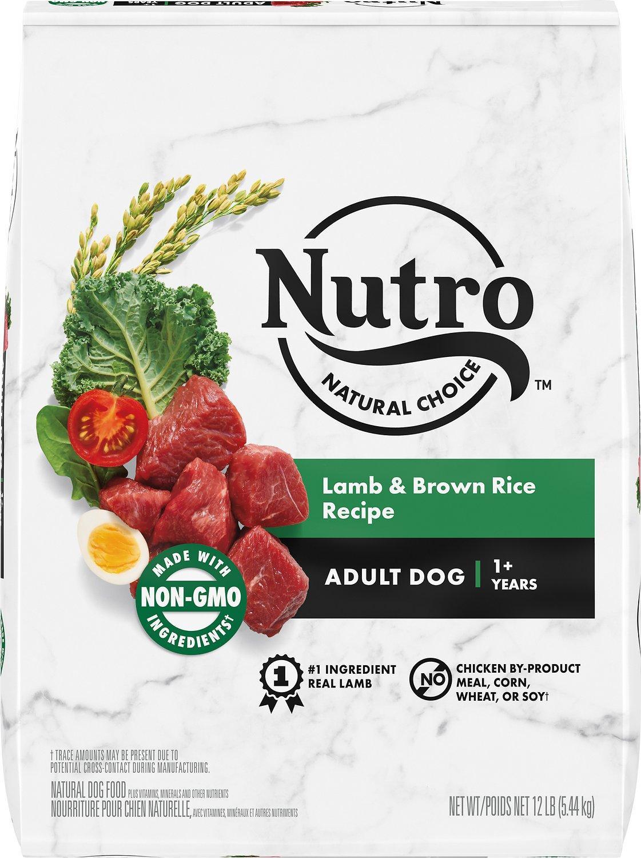 Nutro Natural Choice Lamb & Brown Rice Dry Dog Food, 12-lb