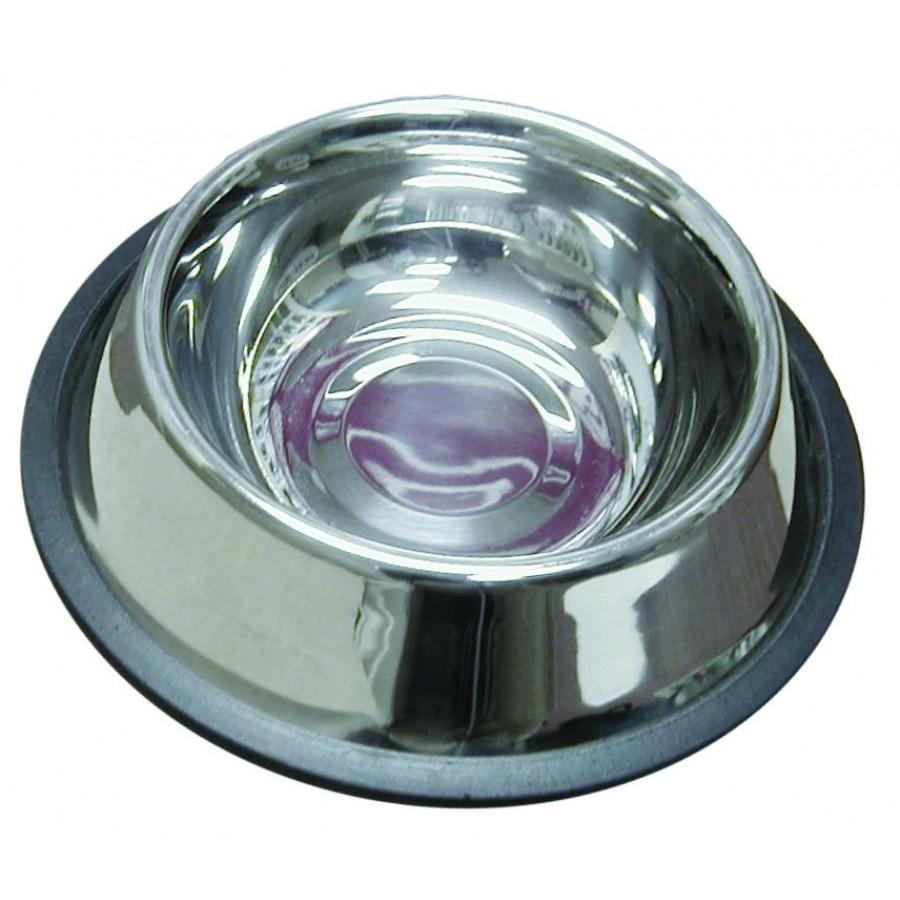 Burgham Stainless Steel No Spill Pet Bowl Image