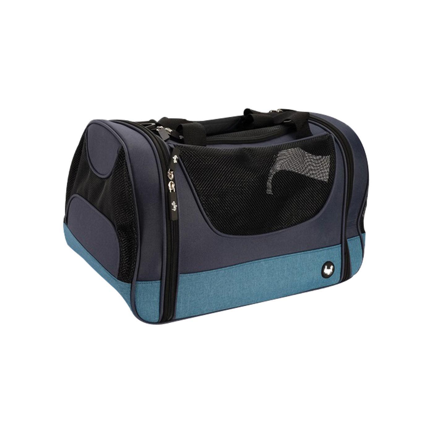 Dogit Explorer Soft Tote Bag Dog Carrier, Blue Image