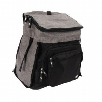 Dogit Explorer Soft Tote Backpack Dog Carrier, Gray Image