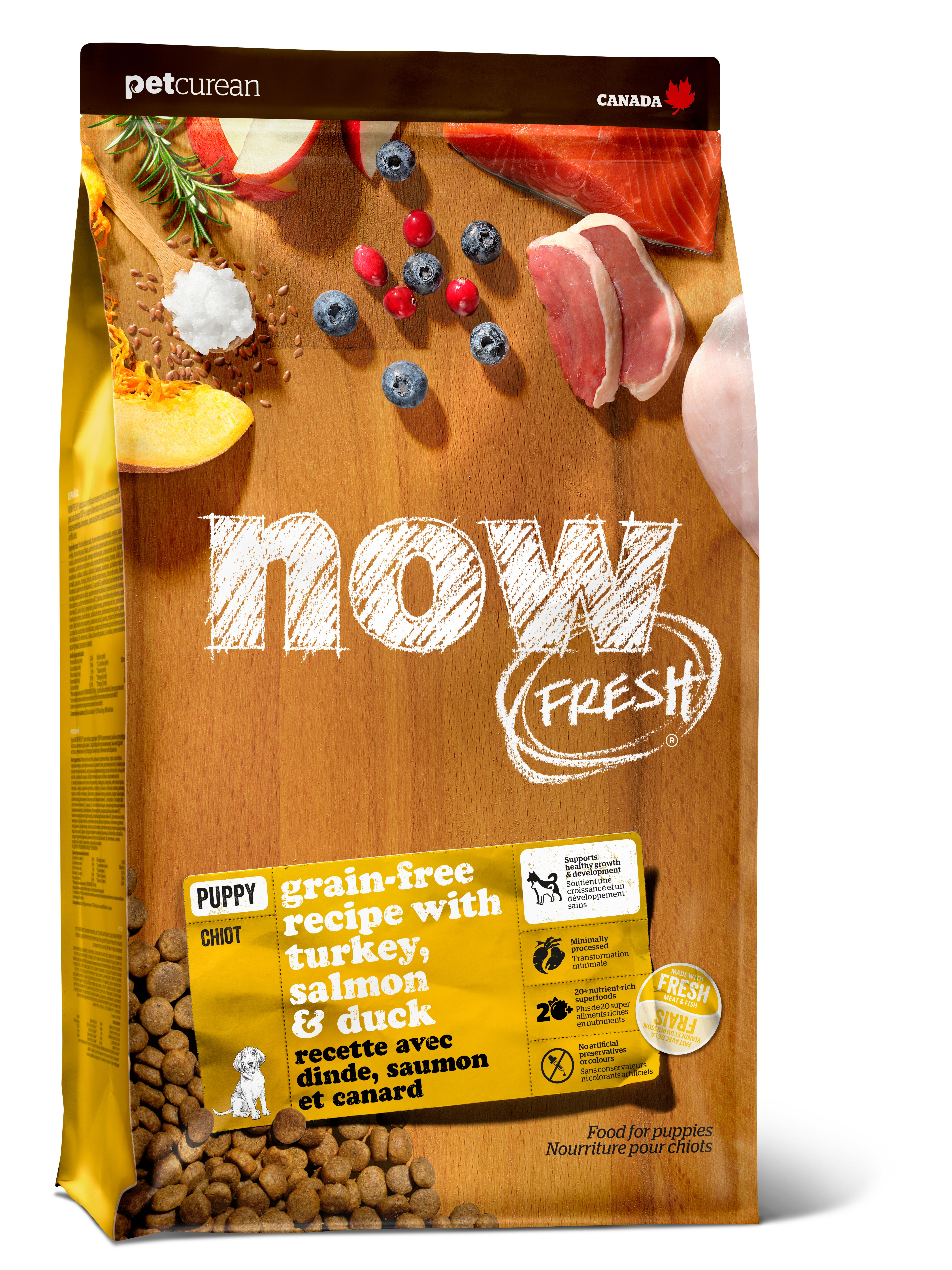 NOW FRESH Puppy Recipe Grain-Free Dry Dog Food, 3.5-lb