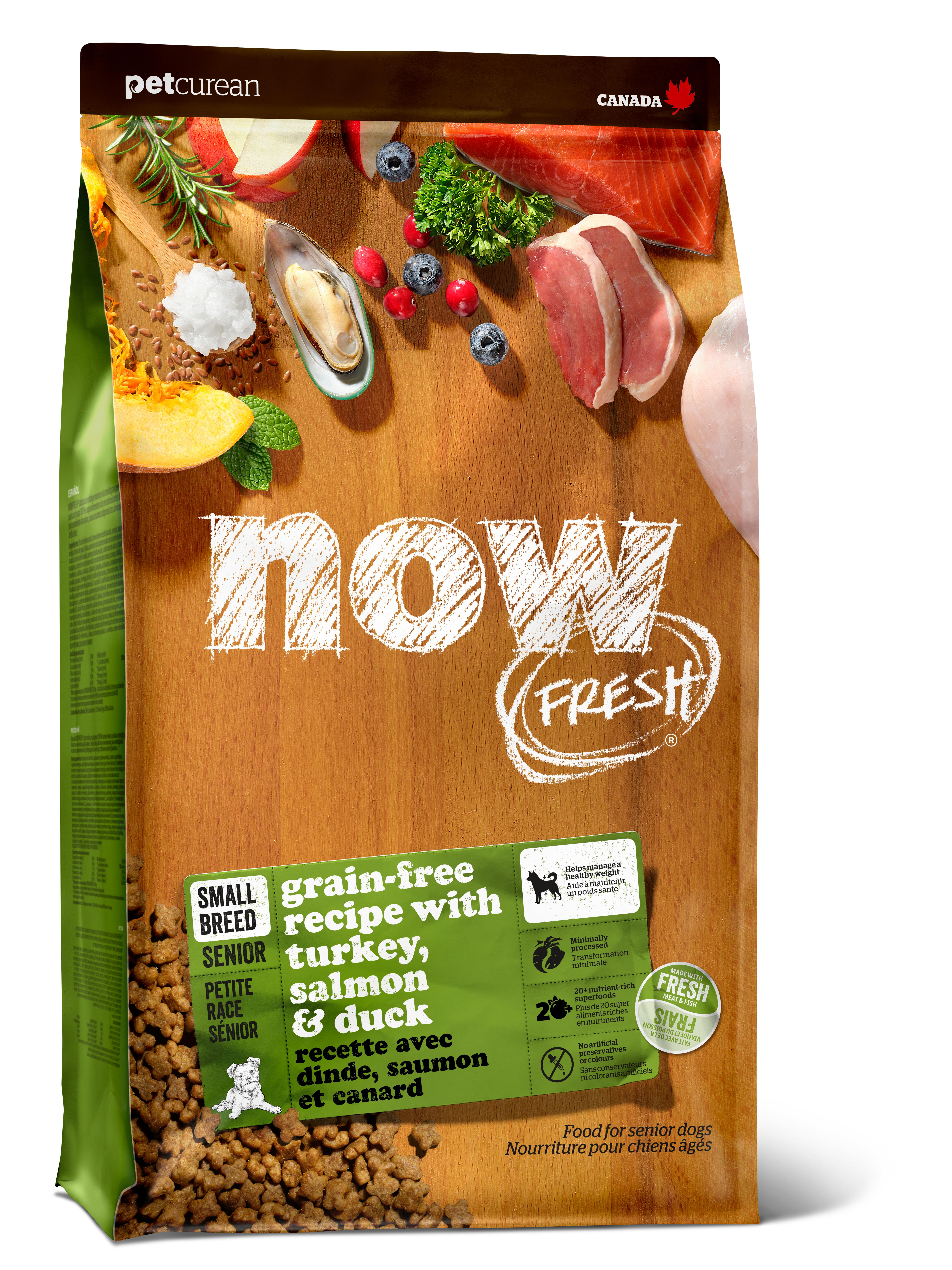 NOW FRESH Small Breed Senior Recipe Grain-Free Dry Dog Food Image