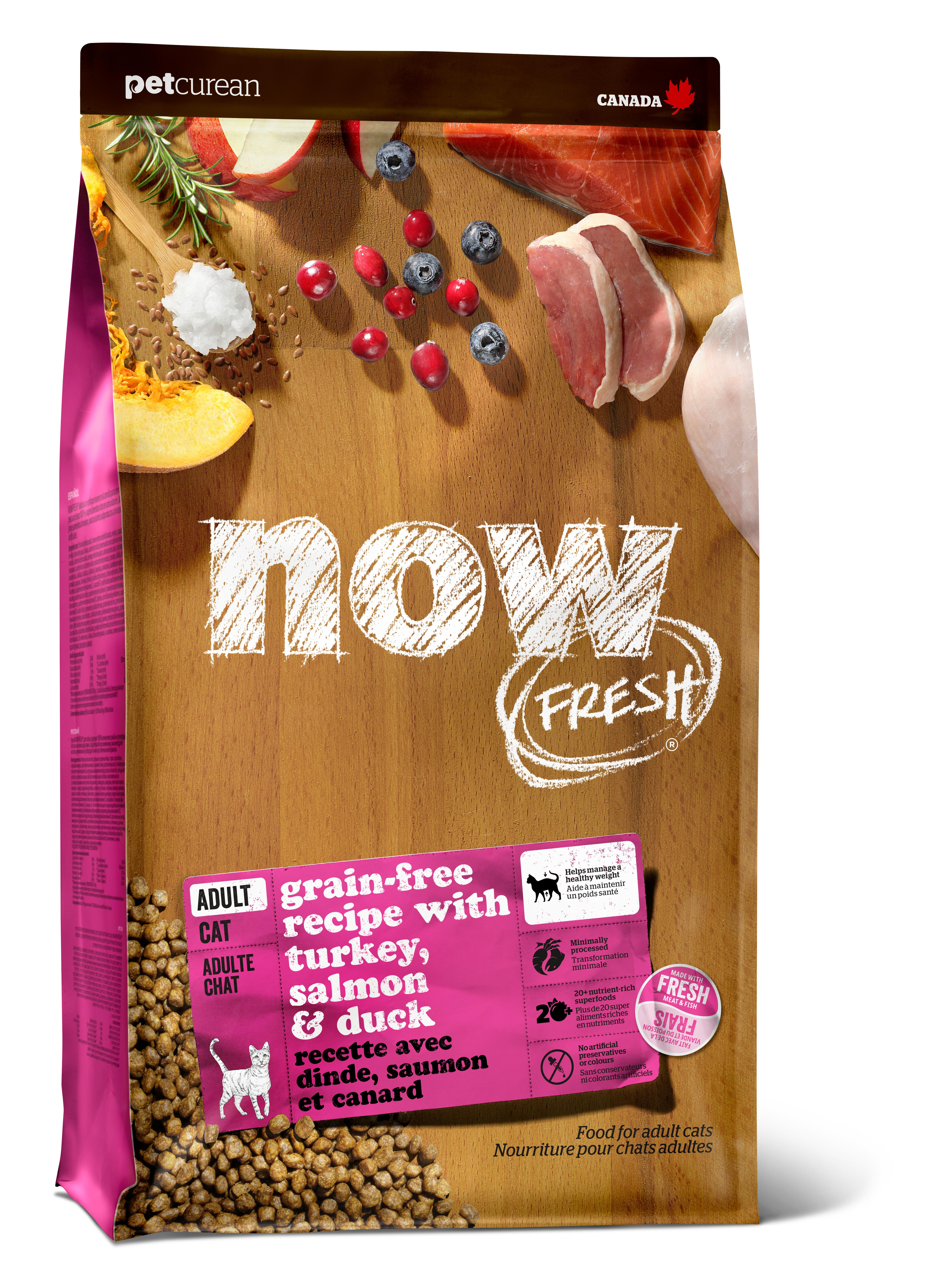 NOW FRESH Adult Recipe Grain-Free Dry Cat Food Image