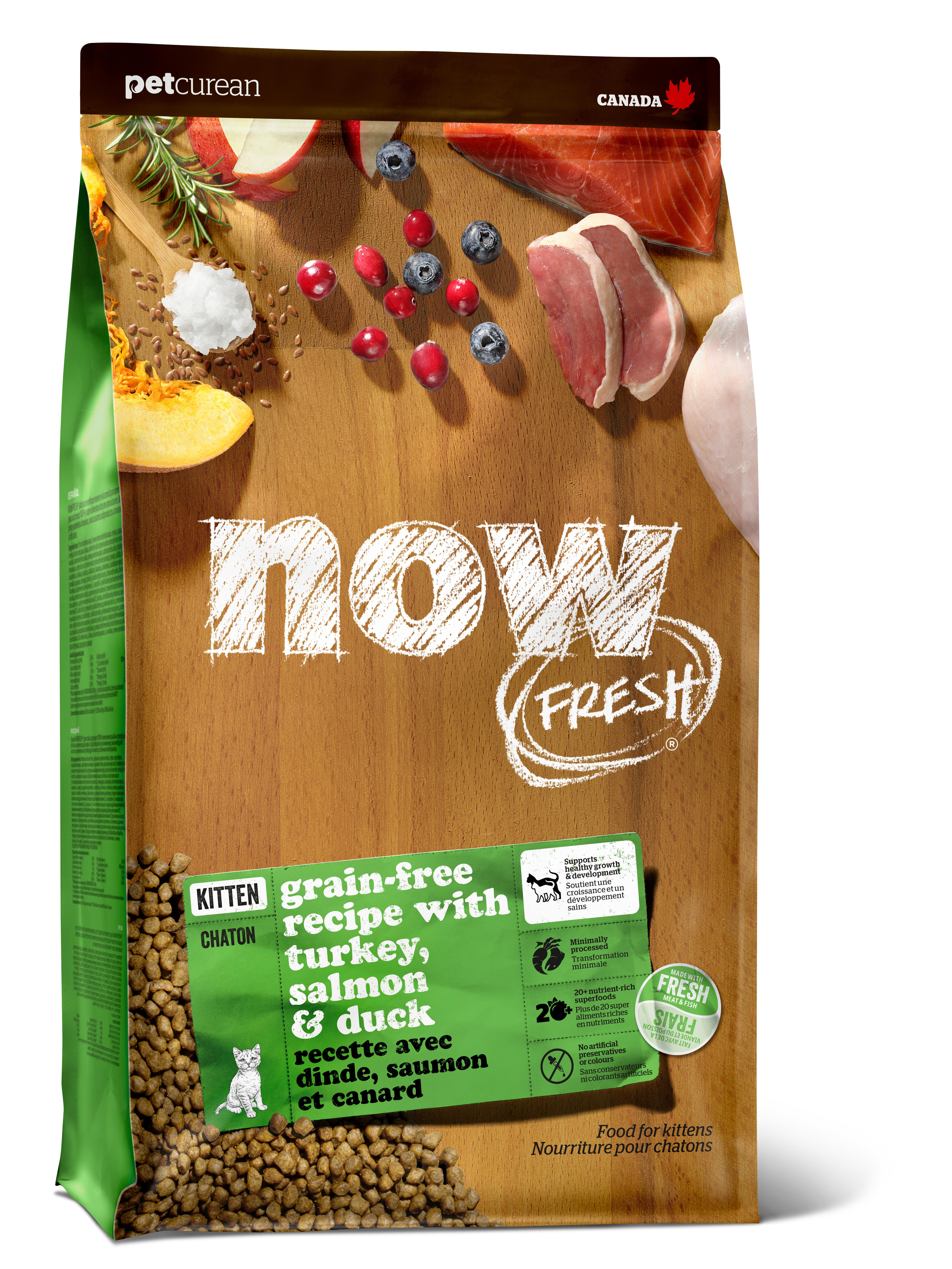 NOW FRESH Kitten Recipe Grain-Free Dry Cat Food Image
