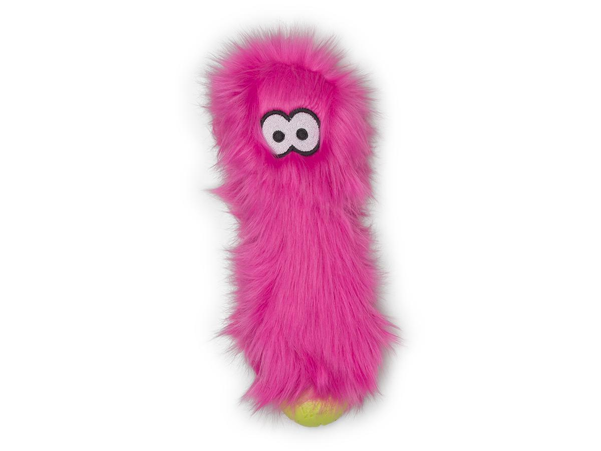 West Paw Rowdies Custer Dog Toy, Hot Pink