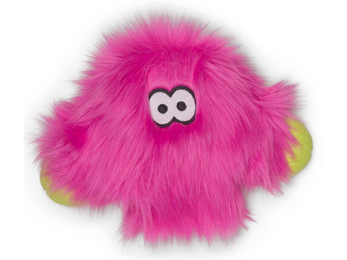 West Paw Rowdies Taylor Dog Toy, Hot Pink