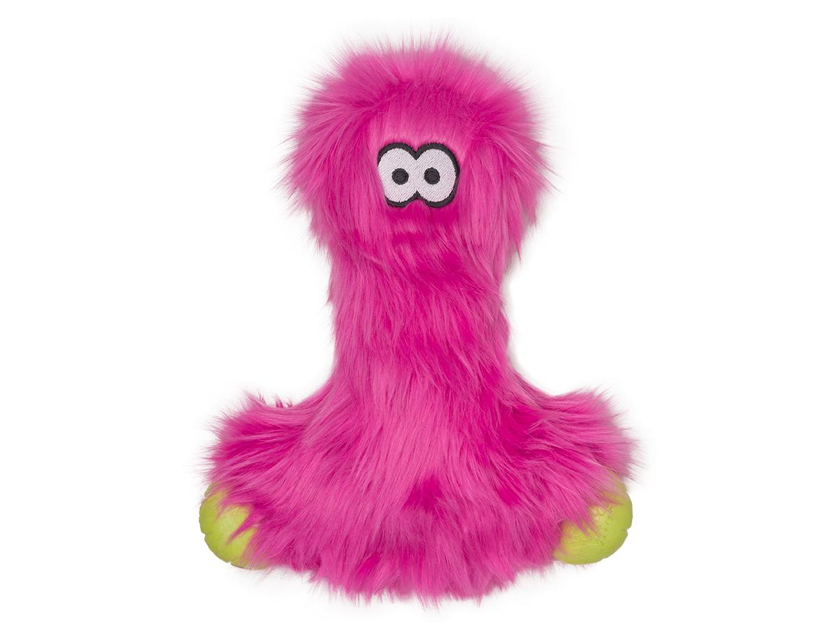West Paw Rowdies Lewis Dog Toy, Hot Pink