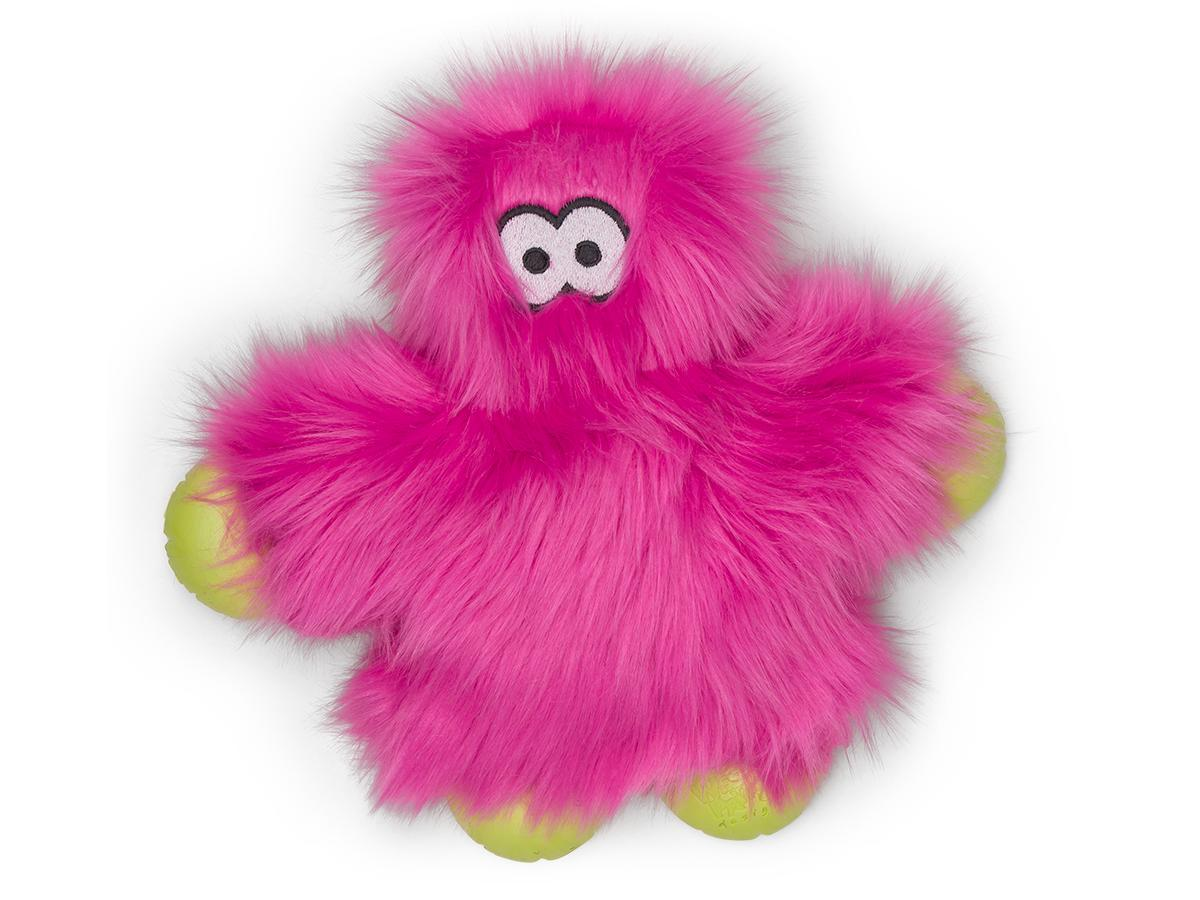 West Paw Rowdies Ruby Dog Toy, Hot Pink