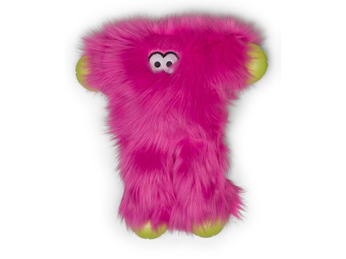 West Paw Rowdies Peet Dog Toy, Hot Pink