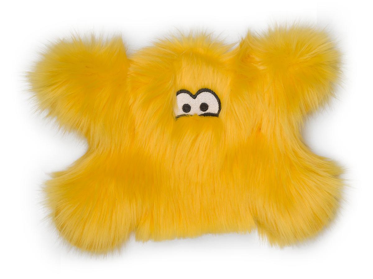 West Paw Rowdies Froid Dog Toy, Lemon Image