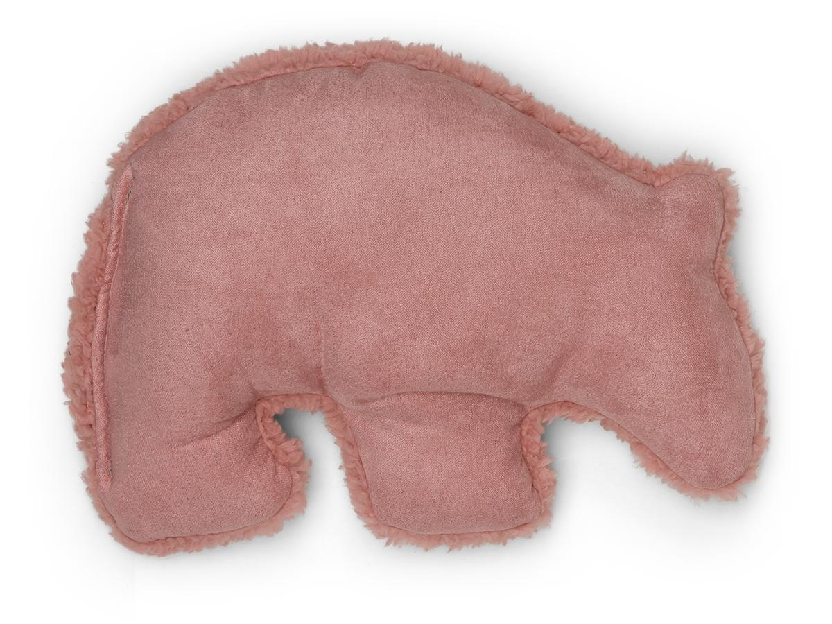 West Paw Big Sky Grizzly Dog Toy, Dusty Rose, Large