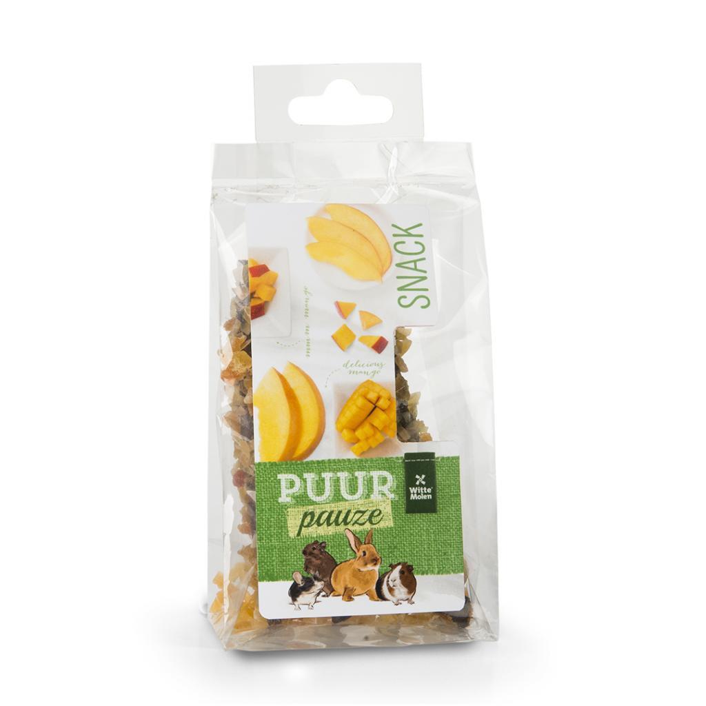 Witte Molen PURR Pauze Mango Wooden Chew Stick Small Animal Treats, 50-gram