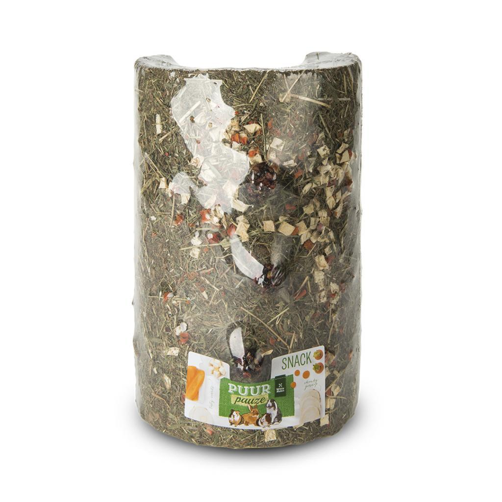 Witte Molen PUUR Pauze Hay Tunnel with Pepper & Celery Small Animal Treats, 280-gram
