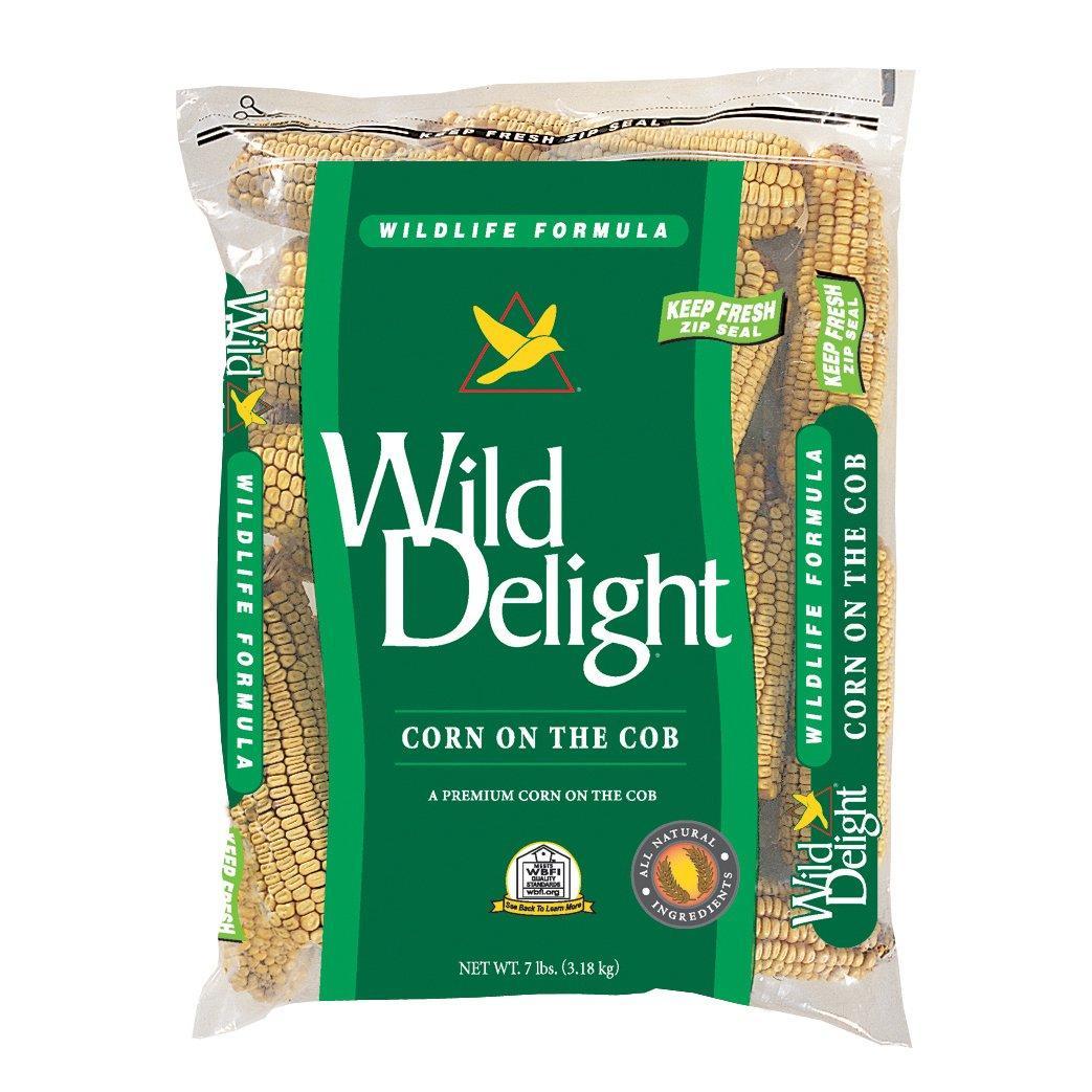 Wild Delight Corn on the Cob Wild Bird Food, 7-lb