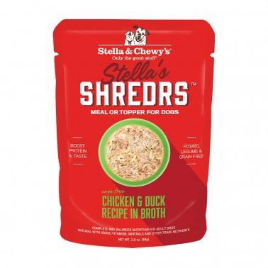 Stella & Chewy's Dog Shredrs Chicken & Duck, 2.8-oz