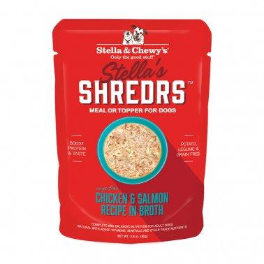 Stella & Chewy's Dog Shredrs Chicken & Salmon, 2.8-oz