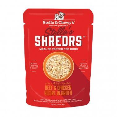 Stella & Chewy's Dog Shredrs Beef & Chicken, 2.8-oz