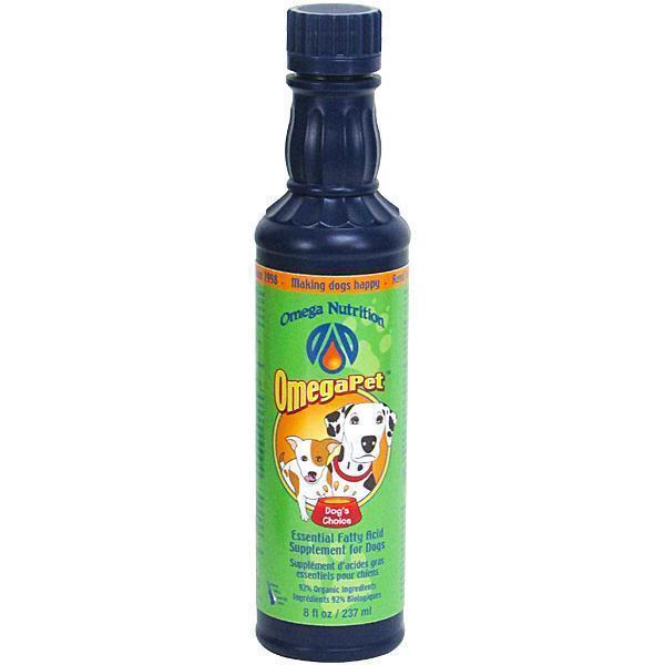 Omega Nutrition OmegaPet Dog Supplement, 8-oz