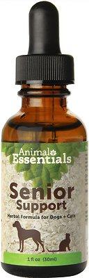 Animal Essentials Senior Support Herbal Formula Dog & Cat Supplement, 1-oz bottle