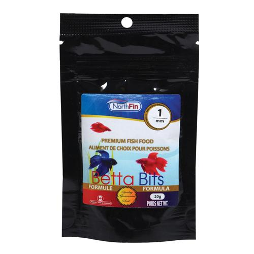 NorthFin Betta Bits Fish Food, 20-gram