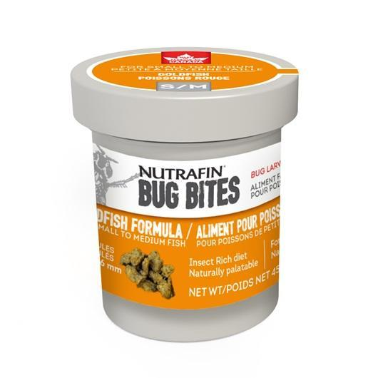 Nutrafin Bug Bites Goldfish Formula Small to Medium Fish Food Image