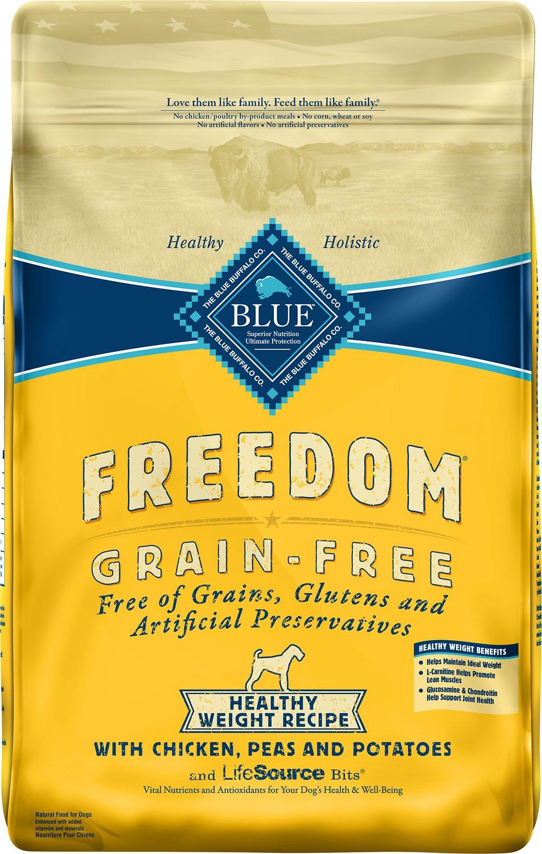 Blue Buffalo Freedom Healthy Weight Chicken Grain-Free Dry Dog Food Image