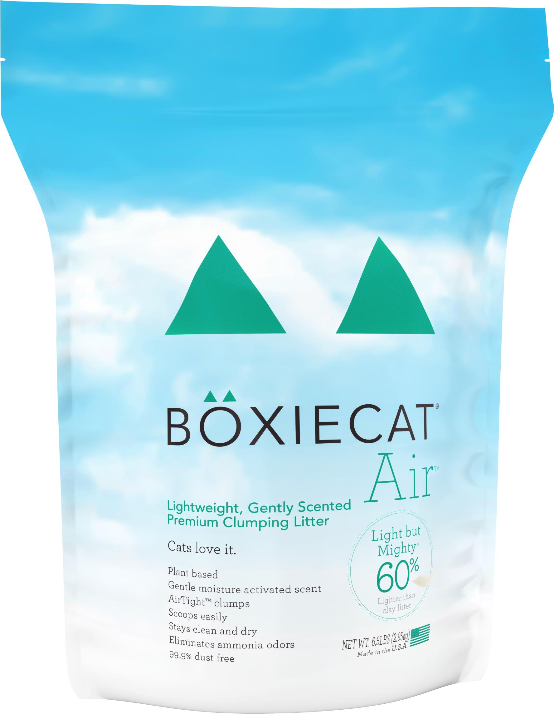 Boxiecat Air Lightweight, Gently Scented, Premium Clumping Cat Litter Image