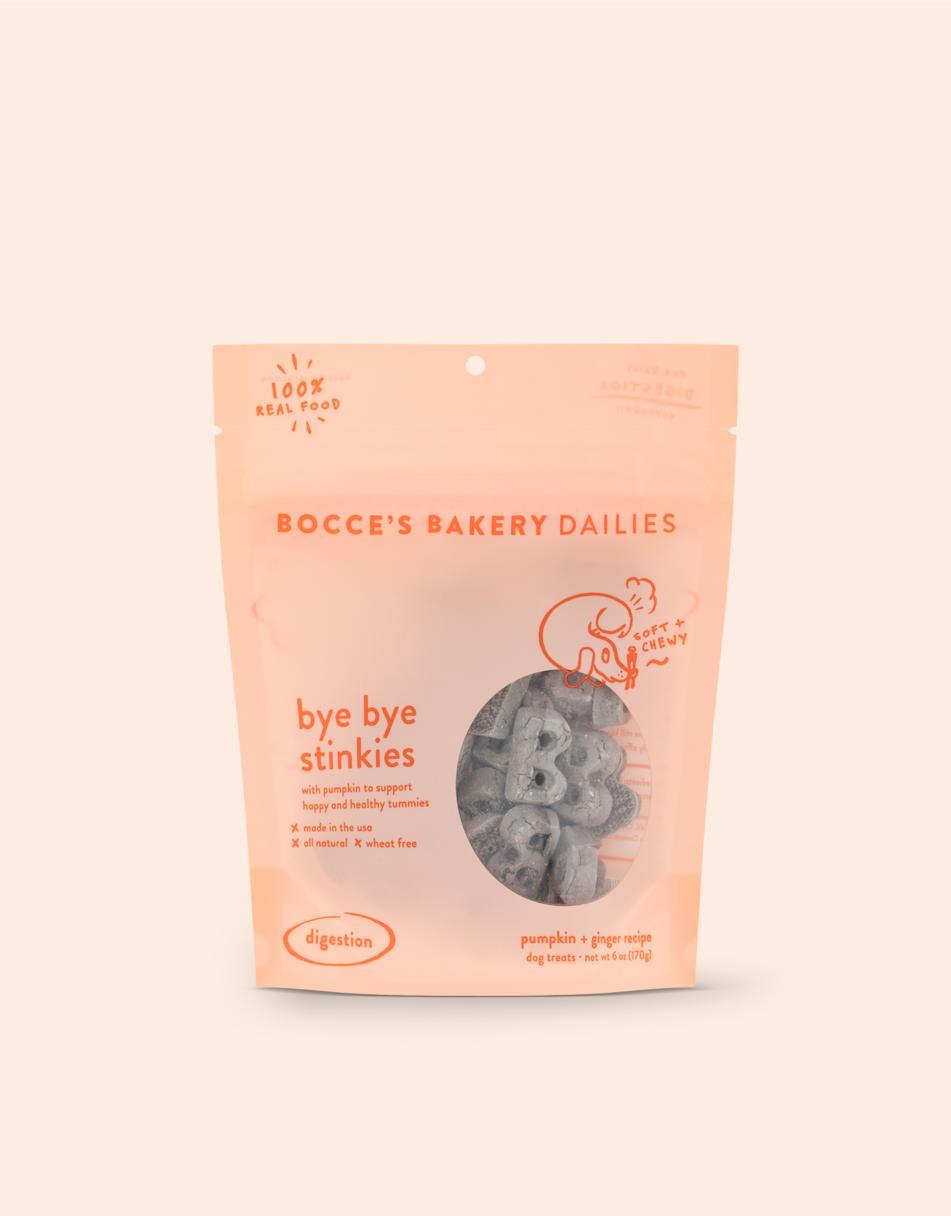 Bocce's Bakery Dailies Bye Bye Stinkies Dog Treats Image