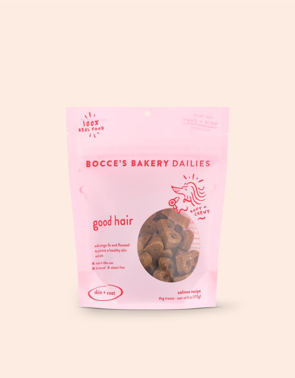 Bocce's Bakery Dailies Good Hair Dog Treats Image