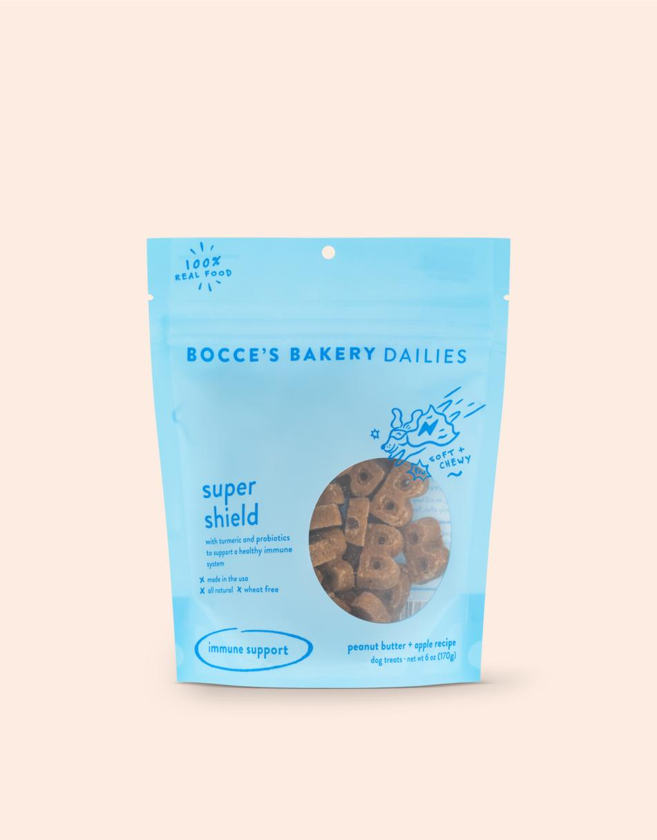 Bocce's Bakery Dailies Super Shield Dog Treats, 6-oz