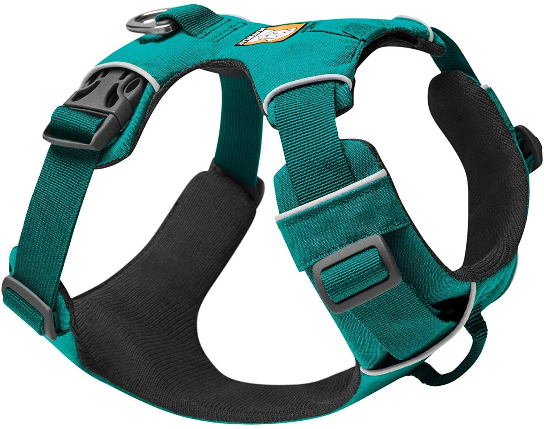 Ruffwear Front Range Dog Harness, Aurora Teal, XX-Small (13-17-in)