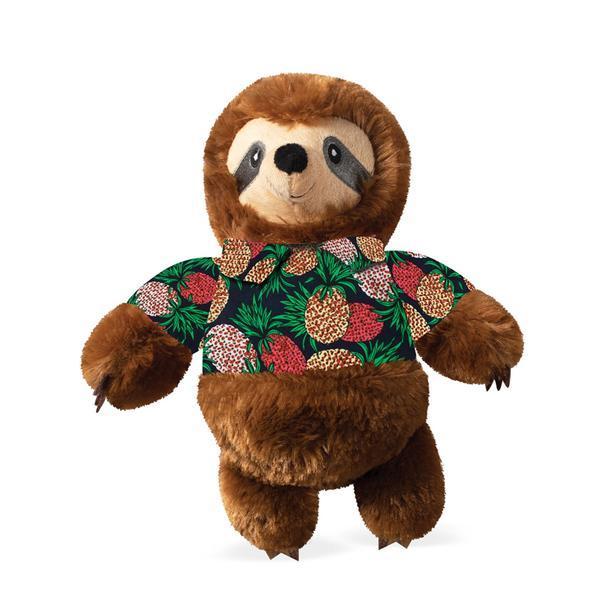 Pet Shop by Fringe Studio Vacay Vibes Sloth Plush Dog Toy