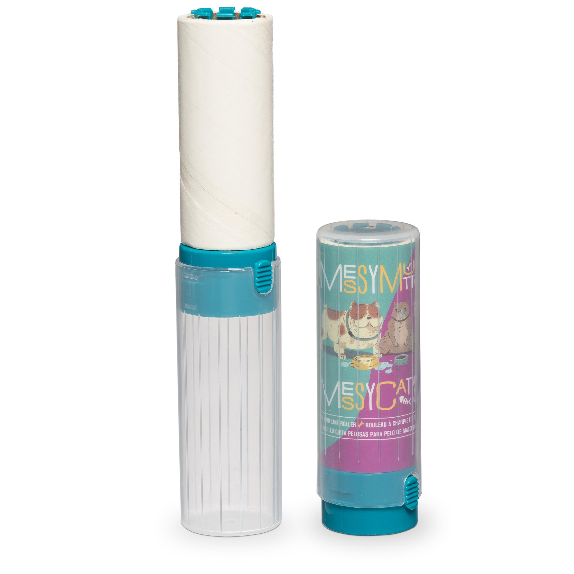 Messy Mutts Pet Hair Lint Roller, 6.8-in