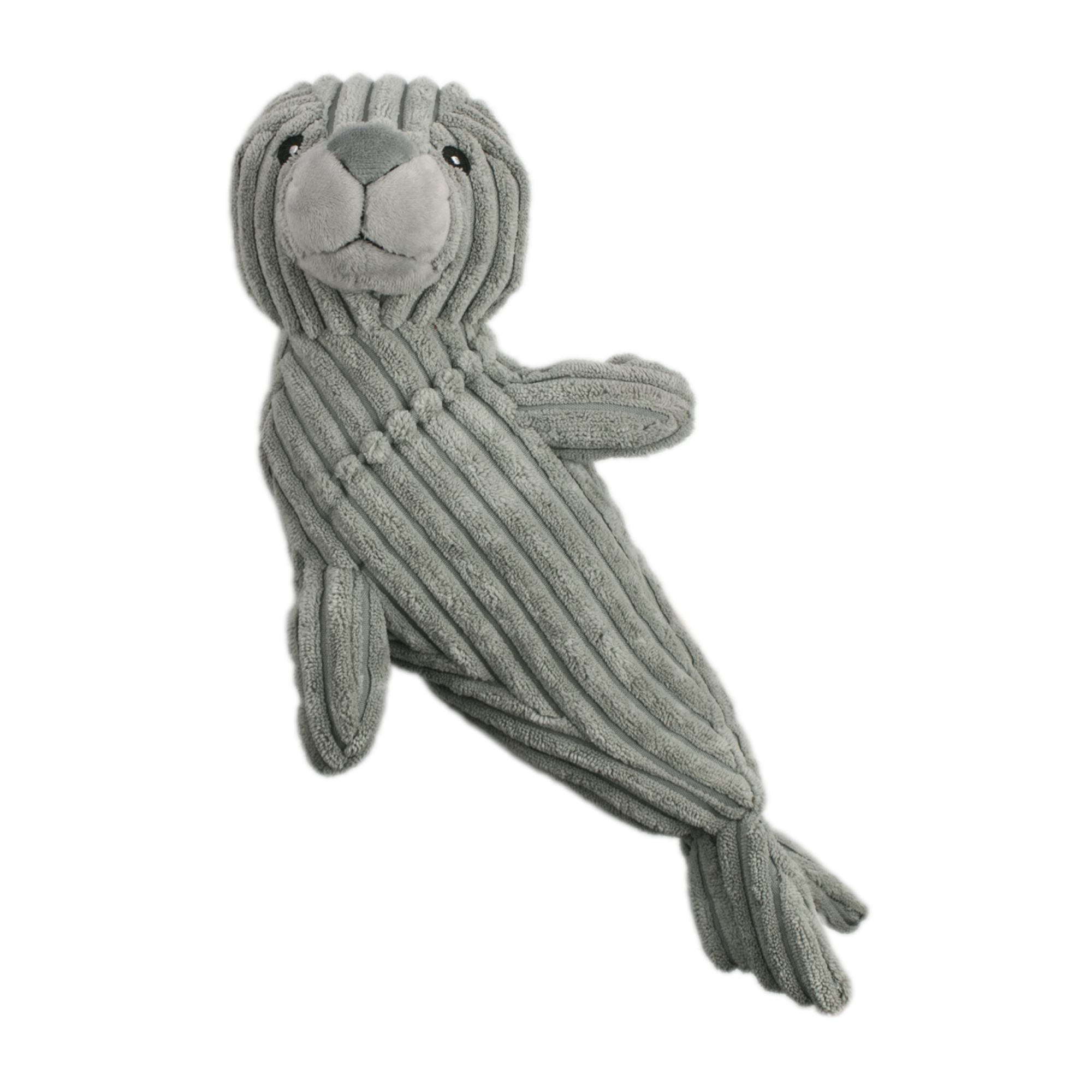 Tall Tails Crunch Seal Dog Toy, 14-in