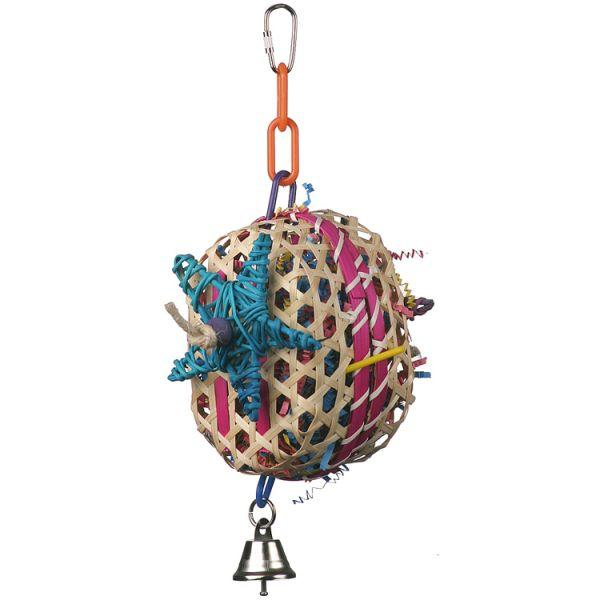 Super Bird Creations Basket Case Bird Toy, Medium