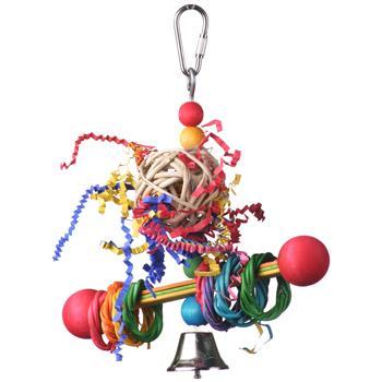 Super Bird Creations Vine Ring Tweeter Totter Bird Toy Image