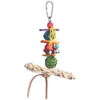 Super Bird Creations Vine Twist T-bar Swing Bird Toy Image