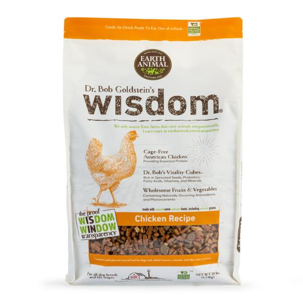 Earth Animal Wisdom Chicken Dry Dog Food Image