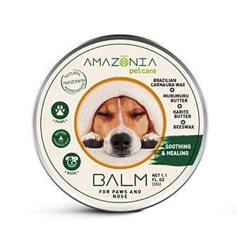 Amazonia Dog Balm for Paws & Nose, 30-gram