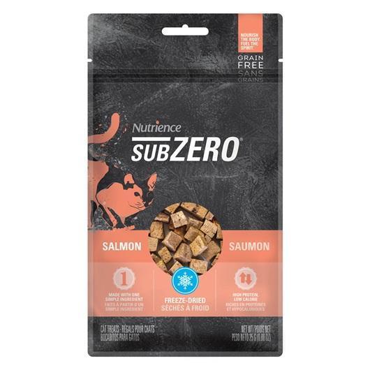 Nutrience SubZero Salmon Cat Freeze-Dried Treats, 25-gram