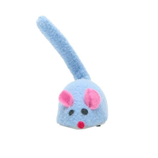 Cat Love Self-Propelled Mouse Cat Toy, Blue Image