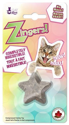 Cat Love Zingers! Star Catnip Cat Toy, 8.5-gram