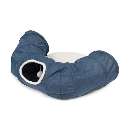 Catit Vesper Tunnel Cat Toy, Blue Image