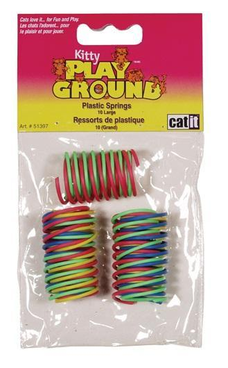 Catit Kitty Playground Plastic Springs Cat Toy Image