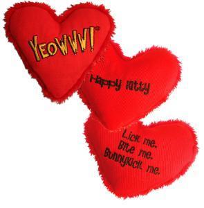 Yeowww! Heart Attack Happy Kitty Catnip Cat Toy