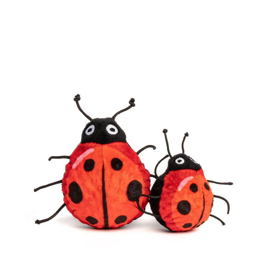 fabdog Faball Dog Toy, Ladybug, Medium