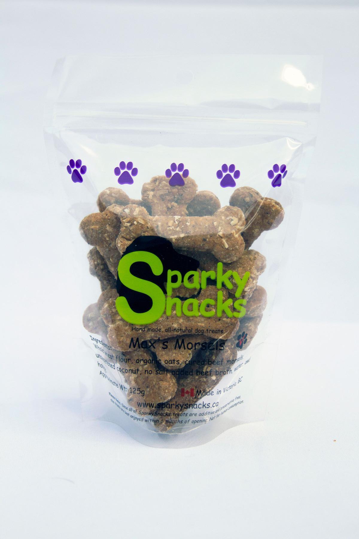 Sparky Snacks Max's Morsels Dog Treats, 125-gram (Size: 125-gram) Image