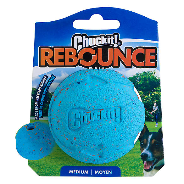 Chuckit! Eco Rebounce Ball, Medium, 1-pack