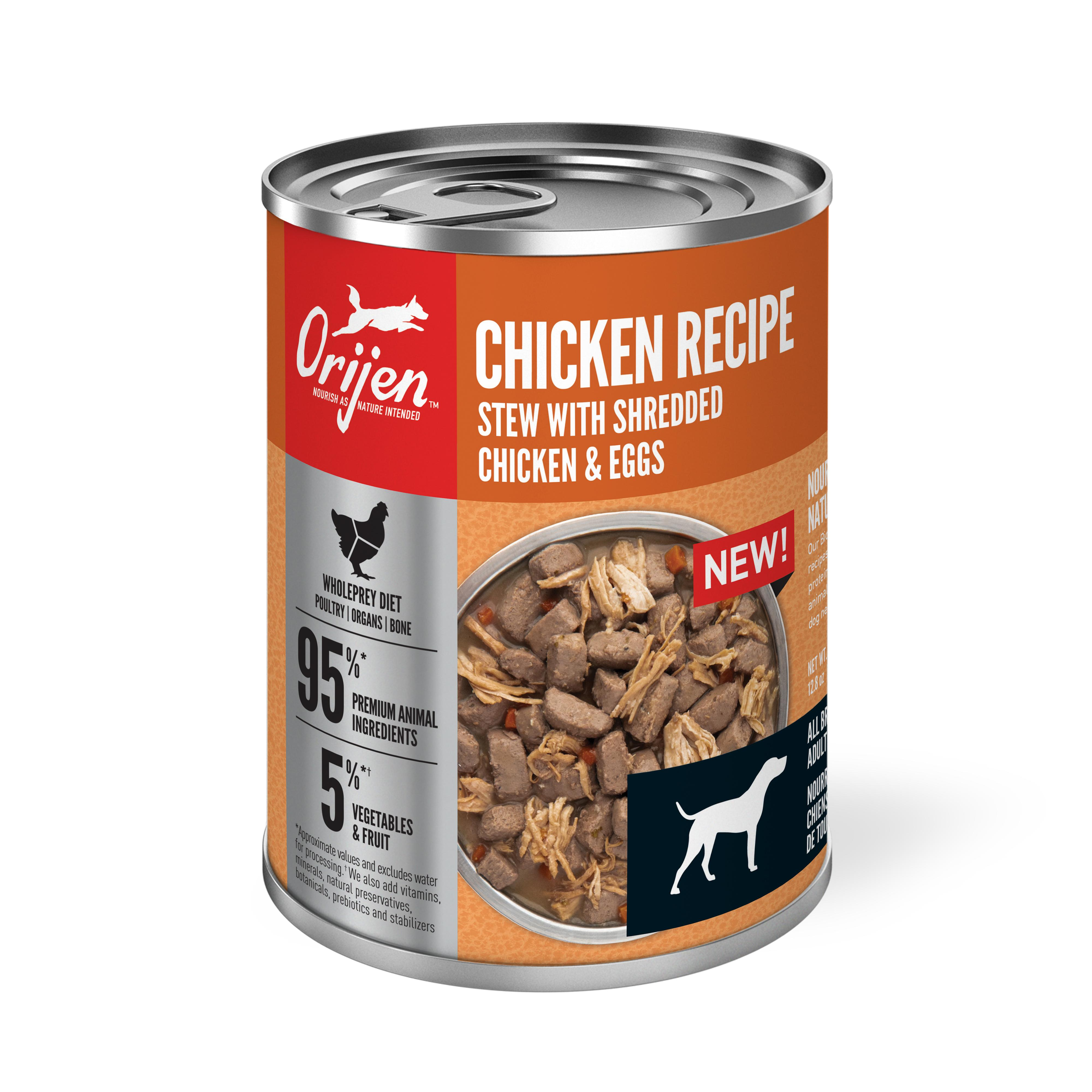 ORIJEN Chicken Stew with Shredded Chicken & Eggs Wet Dog Food Image