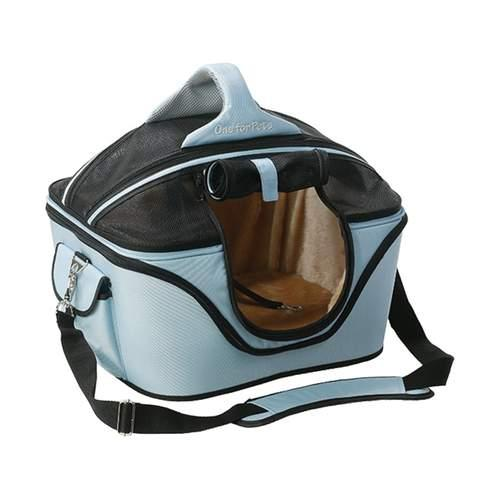 One For Pets The Cozy Pet Carrier, Powder Blue, Small
